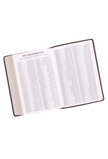 Super Giant Print Bible Charcoal Leathersoft