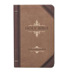Giant Print Standard Bible Brown Portfolio Design Leathersoft