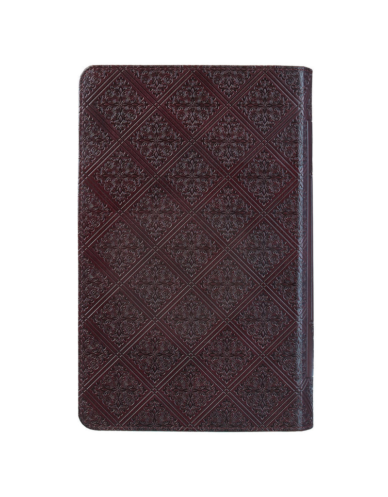 Giant Print Standard Bible Brown With Thumb Index