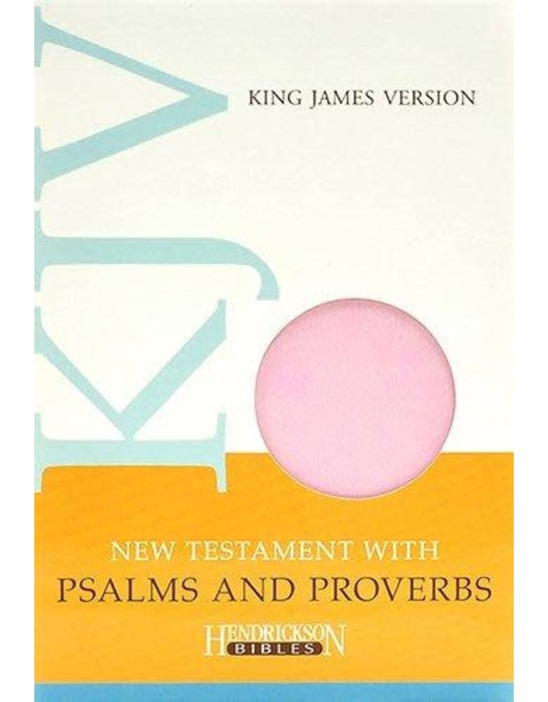New Testament with Psalms and Proverbs Light Pink Flexisoft