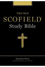 Old Scofield Study Bible Burgundy Genuine Leather Thumb-Indexed