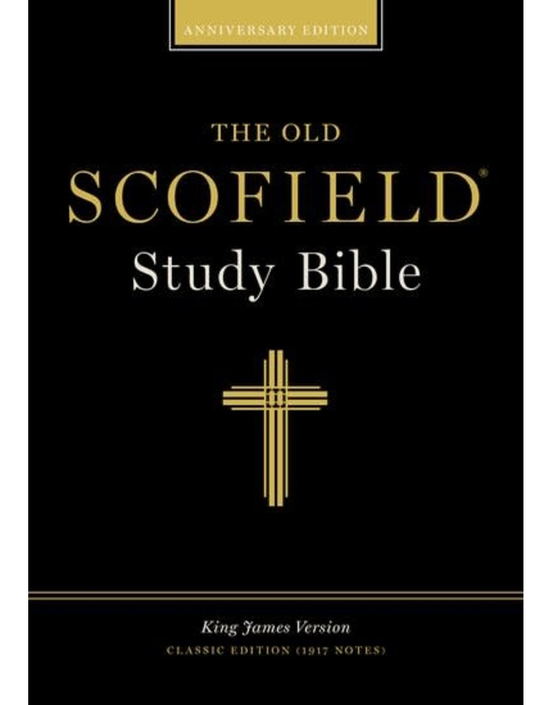 Old Scofield Classic Edition Study Bible Black Cowhide Thumb-Indexed