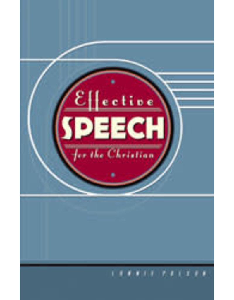 Effective Speech for the Christian