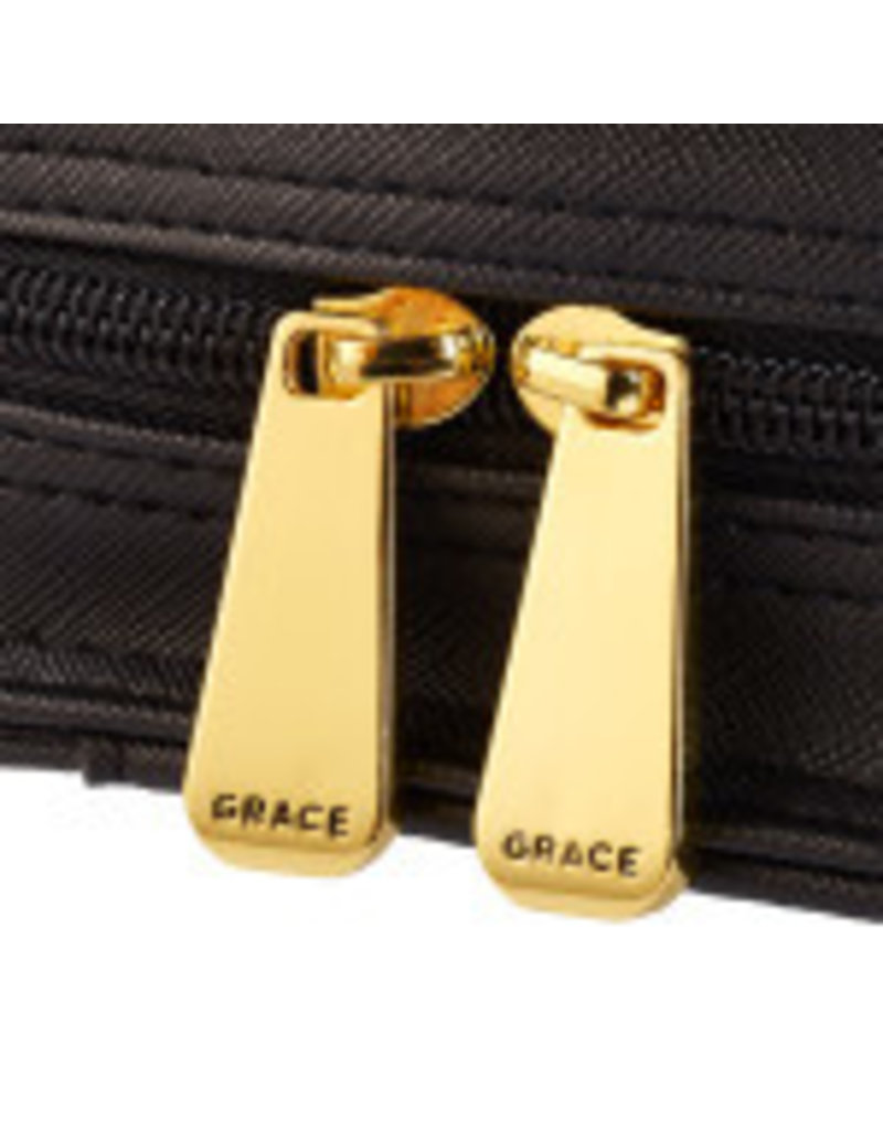 Purse-Style Blessed in Black Bible Cover
