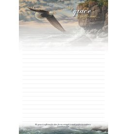 On Eagle's Wings Stationery Pad