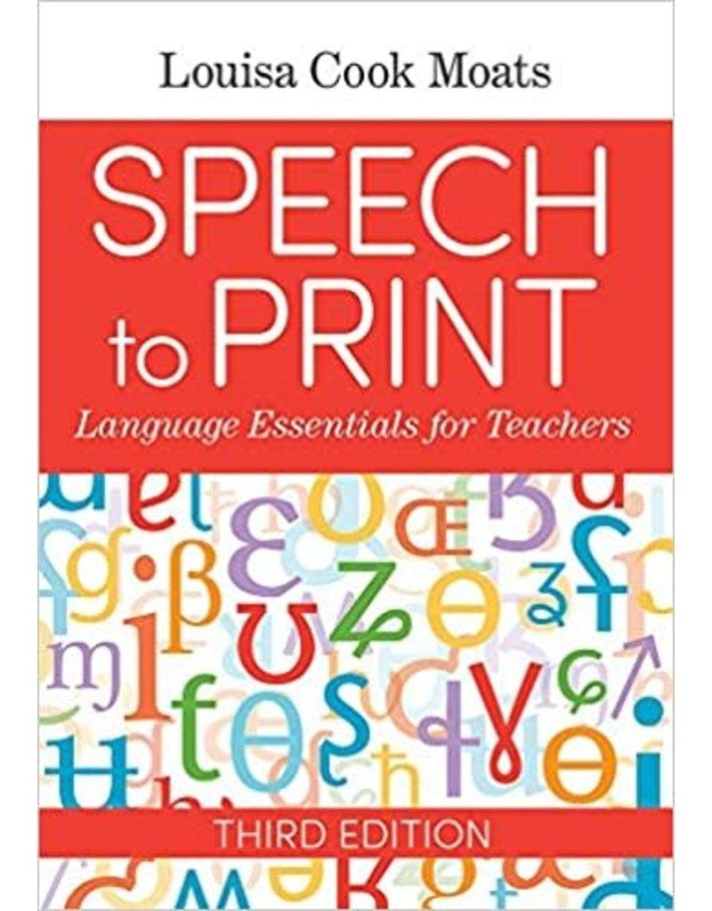 Speech to Print, 3rd Edition