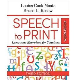 Speech to Print Workbook. 3rd edition