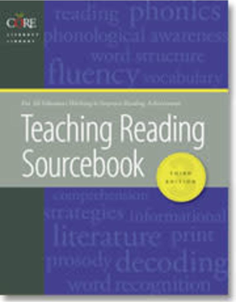 Teaching Reading Sourcebook 3rd Ed.
