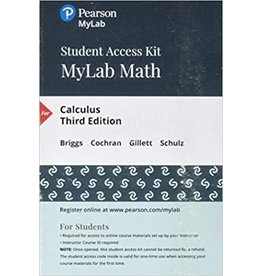 MyLab Math Calculus 3rd edition access code
