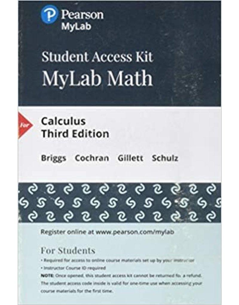 MyLab Math Calculus 3rd edition 18 Week Access Code