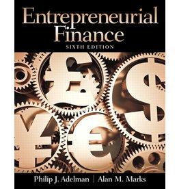 Entrepreneurial Finance 6th Edition