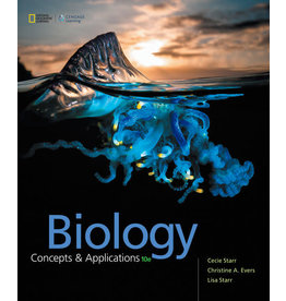 Biology: Concepts and Applications without Physiology, 10th edition