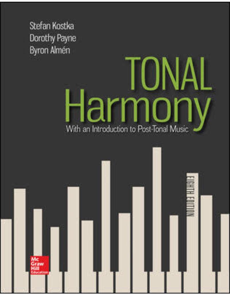 Tonal Harmony, 8th edition