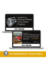 Medium/Heavy Duty Commercial Vehicle Systems Second Edition ONLINE + Medium/Heavy Duty Diesel Engines ONLINE - 1 Year Access Code