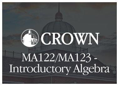 MA122/MA123