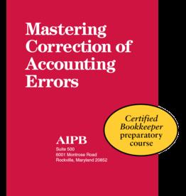 Mastering Correction of Accounting Errors