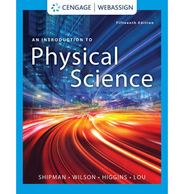 Introduction to Physical Science, 15th edition