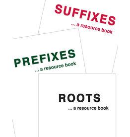 Prefixes – Roots – Suffixes 3 Book Set