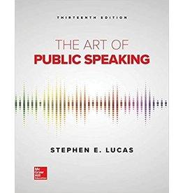 The Art of Public Speaking 13th Ed.
