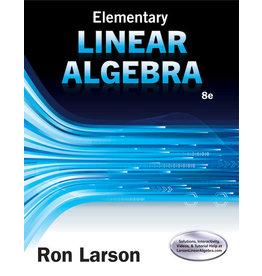 Elementary Linear Algebra, 8th edition