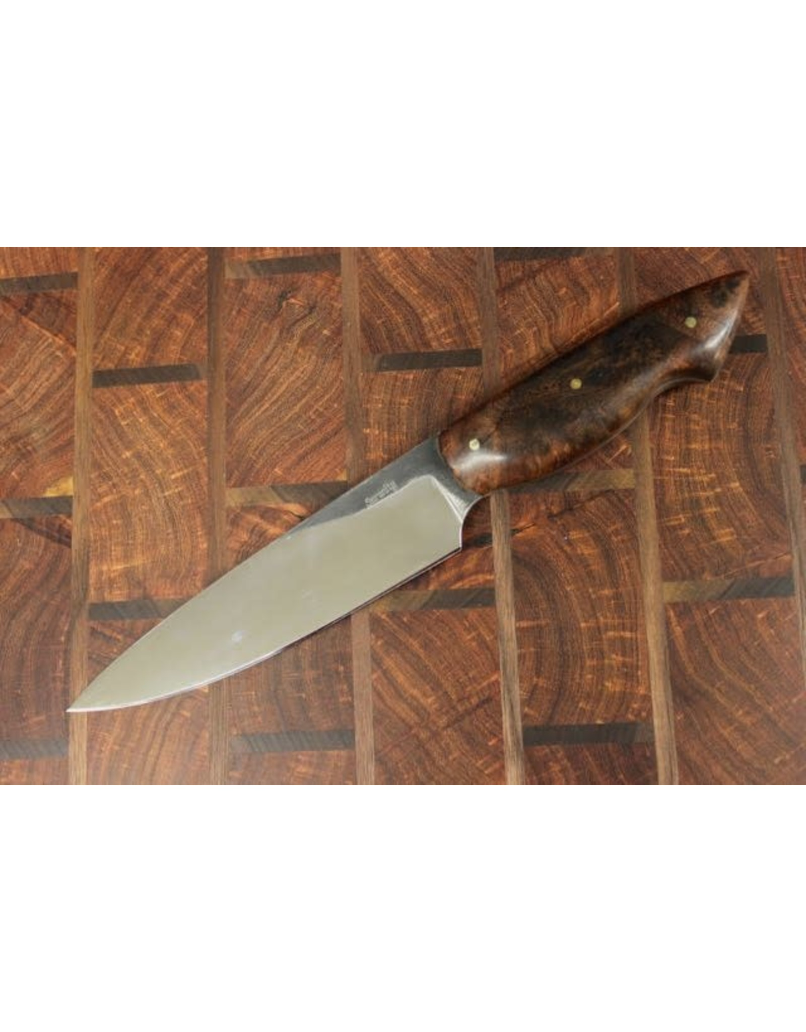 Serenity Mesquite Kitchen Knife Set: CPM154 Stainless
