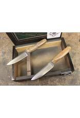 Serenity Set of 2 Steak Knives: CPM154 Stainless Steel