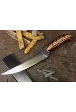 Serenity Boning Knife with Red Pine Cone Handle