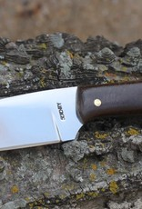 Serenity Straight Drop Neck Knife 52100 High Carbon steel with Juma Handle