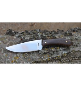 "Serenity 3"" Straight Drop Neck Knife 52100 High Carbon steel with Juma Handle"
