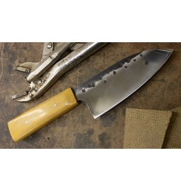 "Serenity 5 1/4"" Petty Knife with Osage Orange Wa Handle"