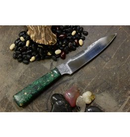 Serenity Gabriel's Paring Knife CPM154 Green Box Elder