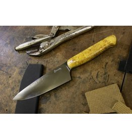 "Serenity 4 1/2"" Honesuki/Petty Knife: Yellow Box Elder"