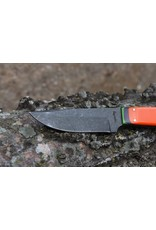 Serenity Zombie Utility Knife Orange G10 Handle