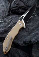 Civivi Civivi Aquila C805C -Tan with Black & Satin Blade
