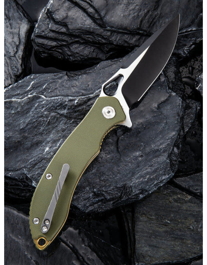 Civivi Civivi Aquila C805A Green with Black and Satin Blade