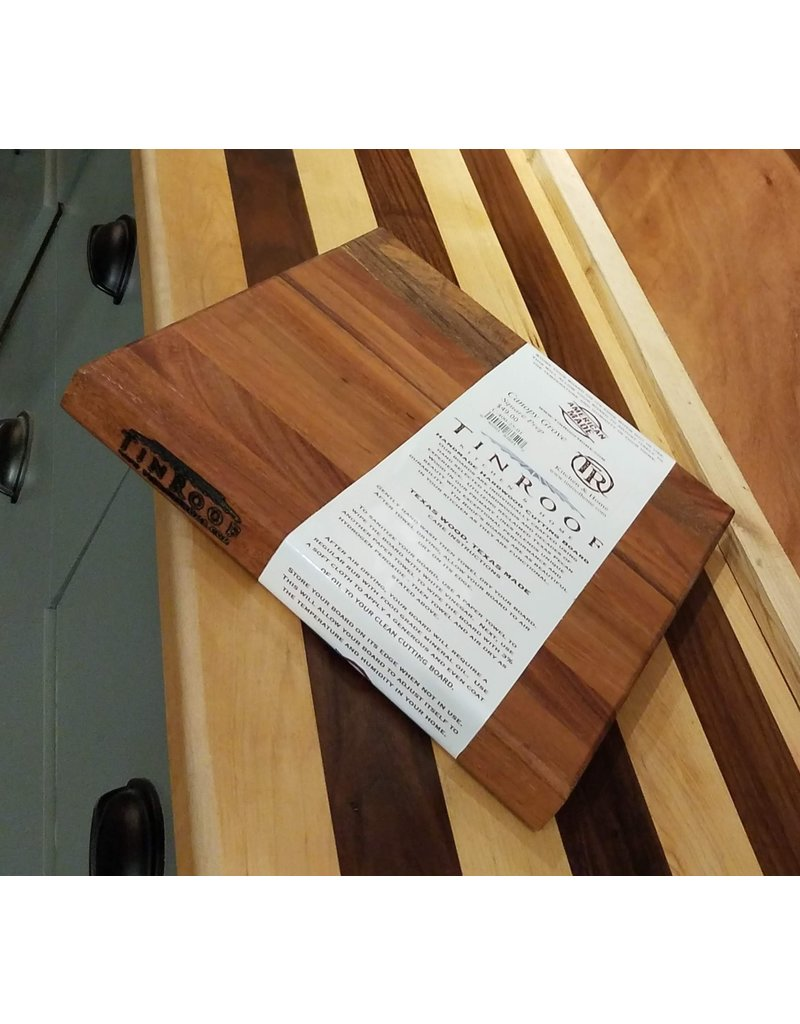Tin Roof Kitchen and Home Canopy Grove Square Prep Cutting Board