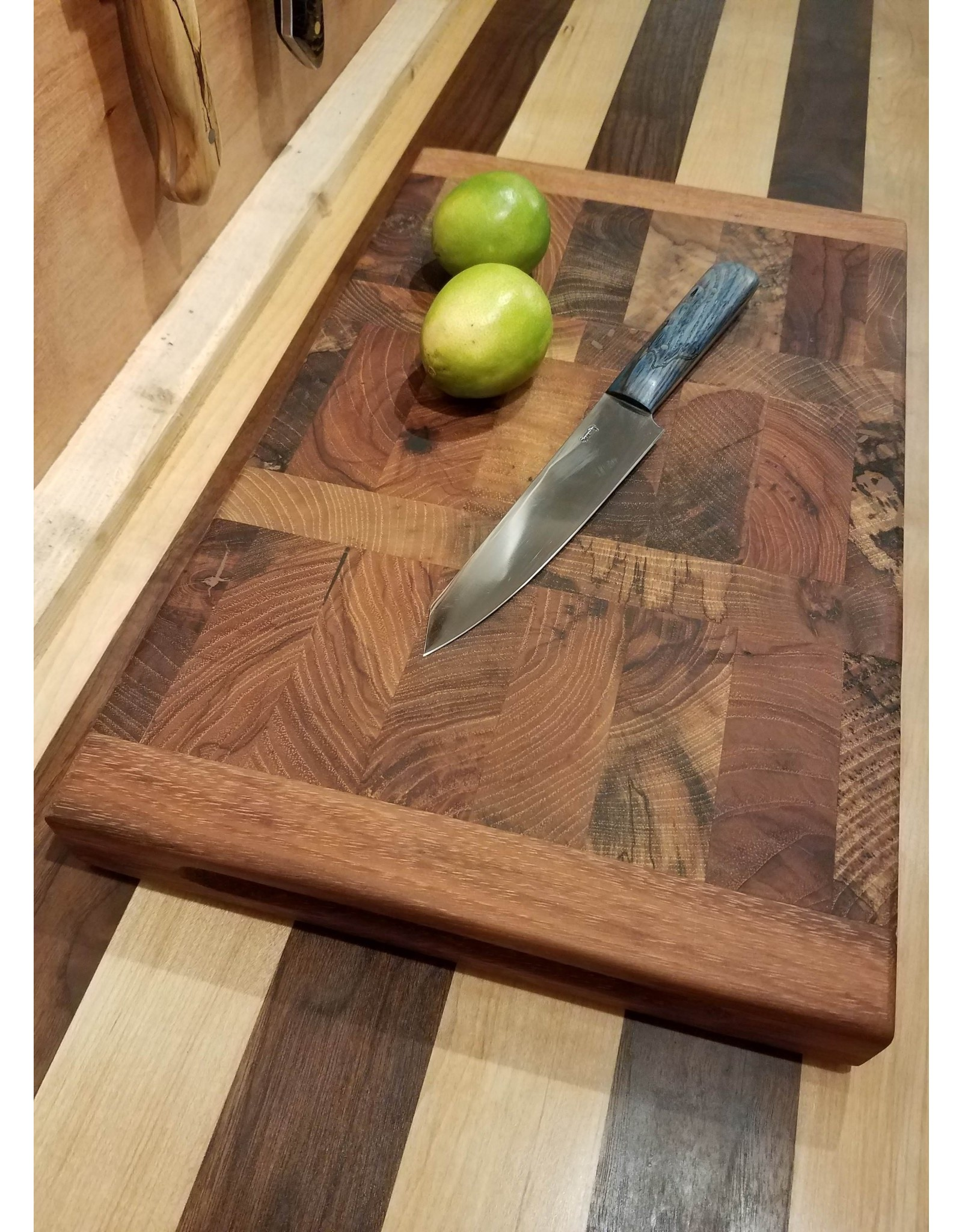 Tin Roof Kitchen and Home Spring Orchard Sharp Chef Cutting Board