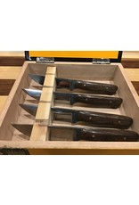 Serenity Mesquite Steak Knife Set of 4