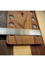 Serenity Racks Large Walnut Magnetic Knife Rack