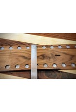 Serenity Racks Large Walnut Magnetic Knife Rack