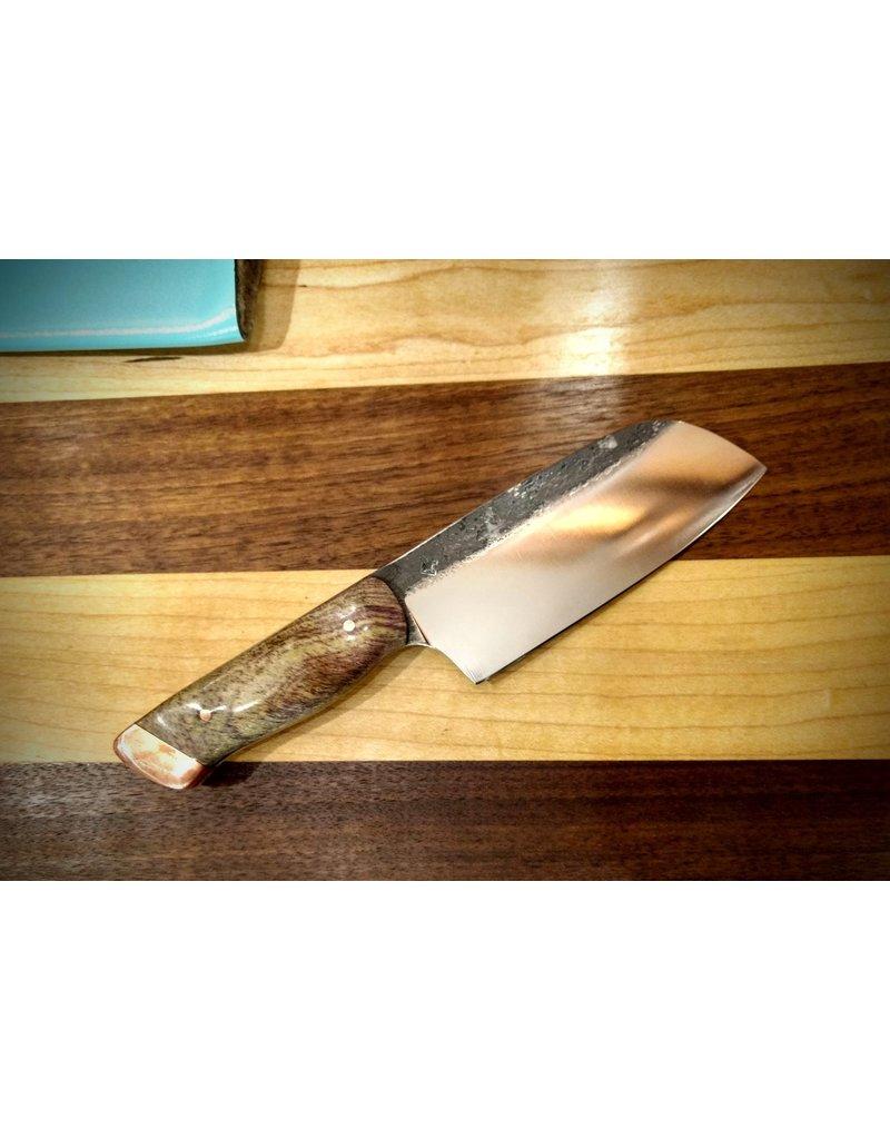 Serenity Mini Santoku CPM Copper Pommel