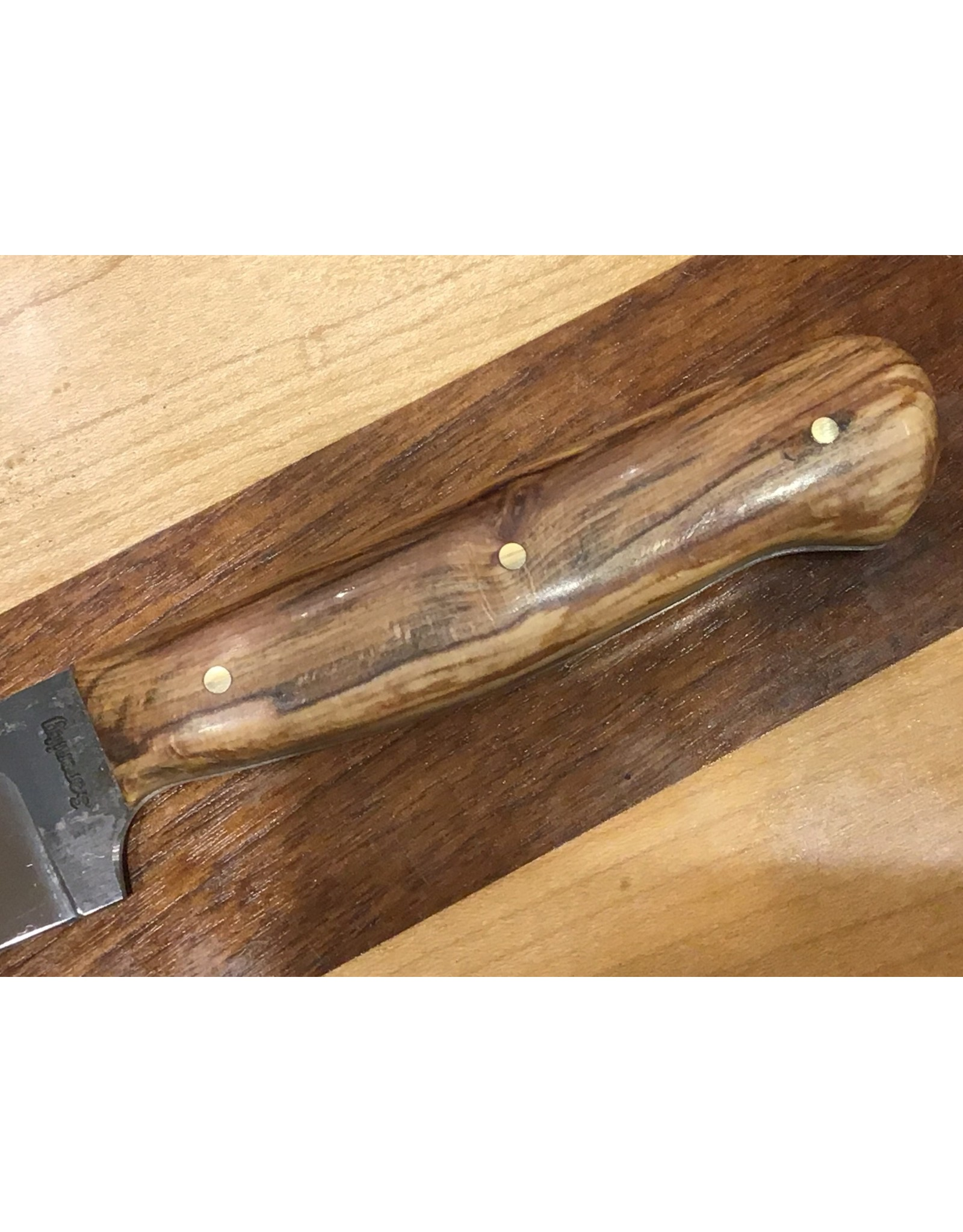 "Serenity 4 1/2"" Paring Knife in High Carbon Steel and Sugar Maple Handle"