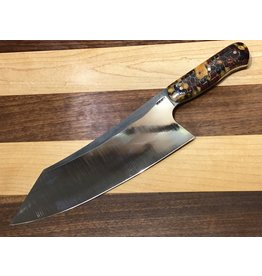 "Serenity 8 1/8"" Santoku with Resin Hybrid Handle"