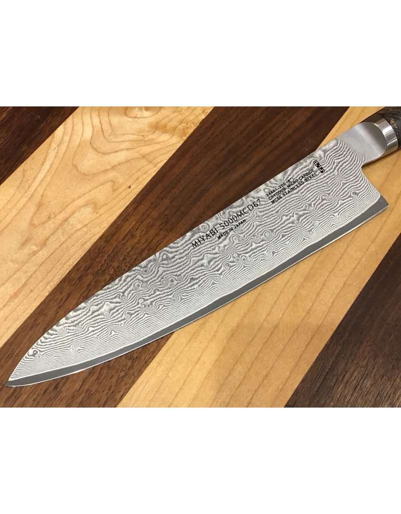 "Miyabi Miyabi Black 8"" Chef Knife 5000MCD67"