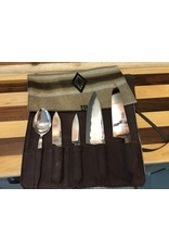 Serenity 4 Knife and 1 Utensil Chef Roll