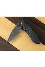 Buck Buck Nobleman Frame Lock Knife Sim Carbon Fiber