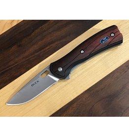 Buck Buck Vantage Avid Small Knife Red Wood DymaLux