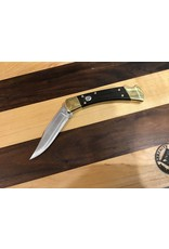 Buck Buck 110 Folding Hunter Automatic with Ebony/Brass Handle