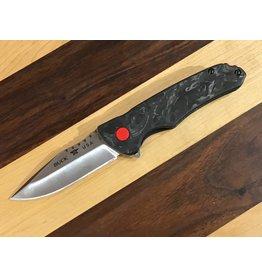 Buck Buck Sprint Pro Liner Lock Knife Marble Carbon Fiber