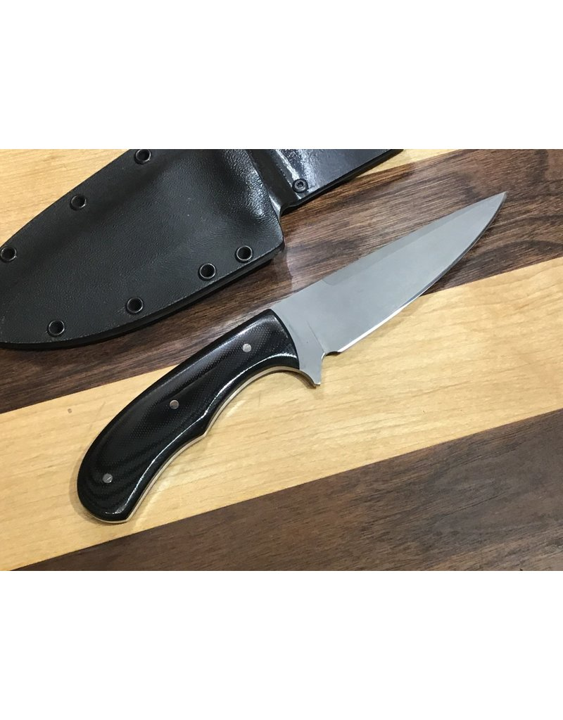 Serenity Tactical Spear Point - Black G10